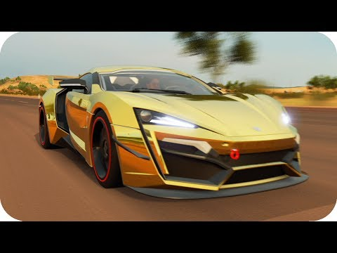 LYKAN HYPERSPORT!! TUNEO Y TOP SPEED CHALLENGE!! | FORZATHON FH3