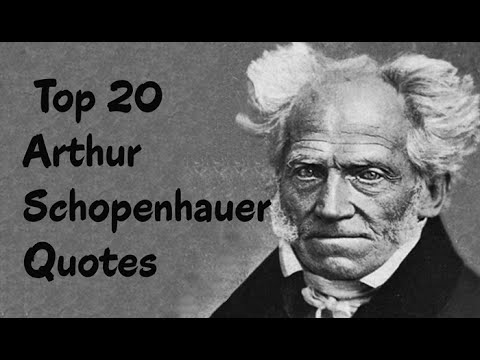 Top 20 Arthur Schopenhauer Quotes (Author of The World as Will and Representation)