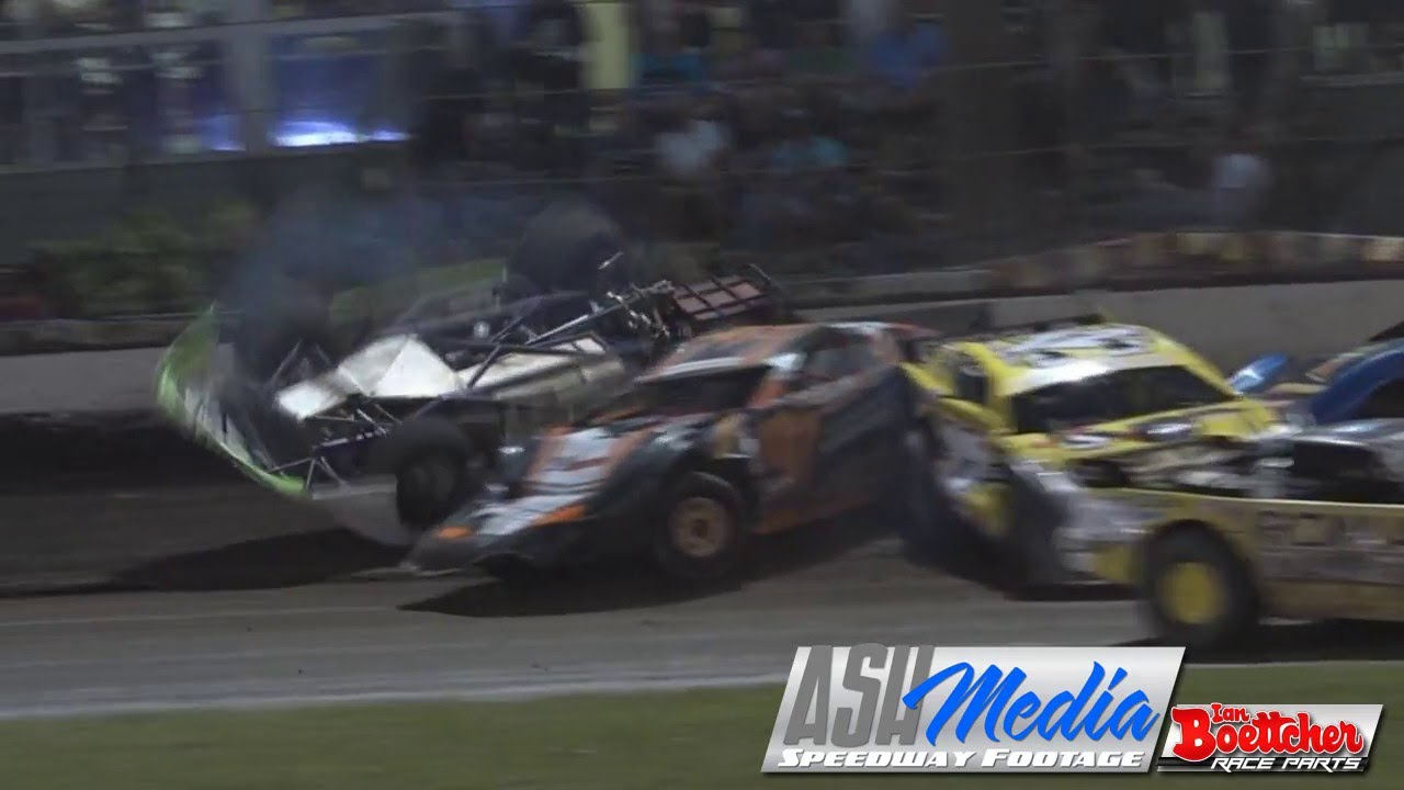 Super Sedans Mark O Brien Big Rollover Rockhampton Speedway