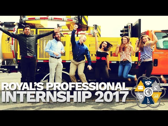 Royal's Professional Internship 2017