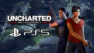 Uncharted: The Lost Legacy - PS5 Gameplay (4K)