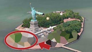 10 Secret Places Google Maps Doesn