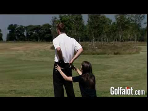Buttock Squeeze Golf Exercises