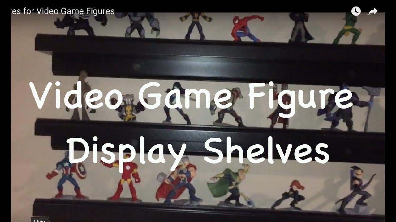 Video Game Figure Display Shelves Youtube