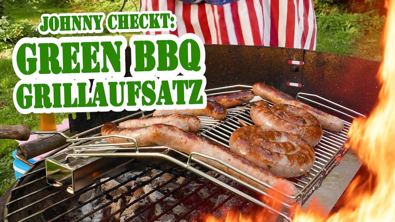 johnny checkt: dr. zhangs greenbbq grillaufsatz - die grillshow special