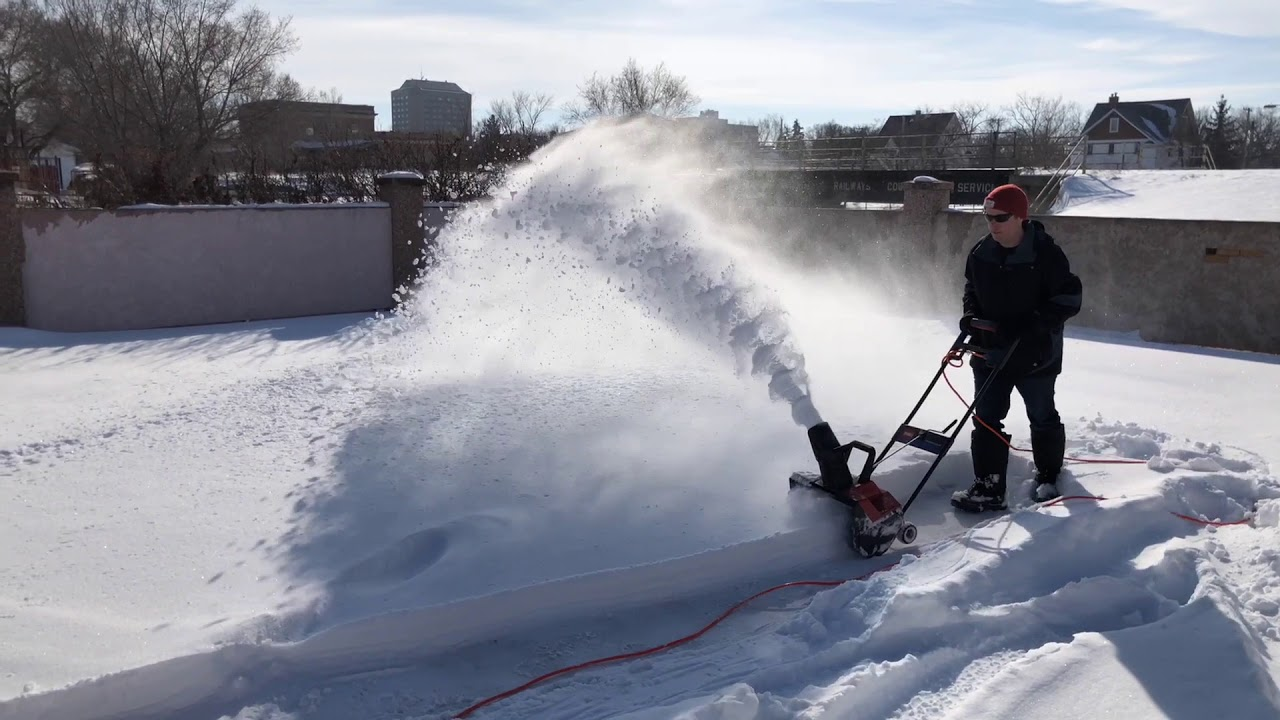 Souffleuse Toro Electrique 7 Years With The Toro 1800 Snow Thrower Review Demo