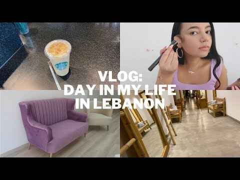 VLOG: day in my life in lebanon (morning coffee, GRWM, office update, dinner & more..)