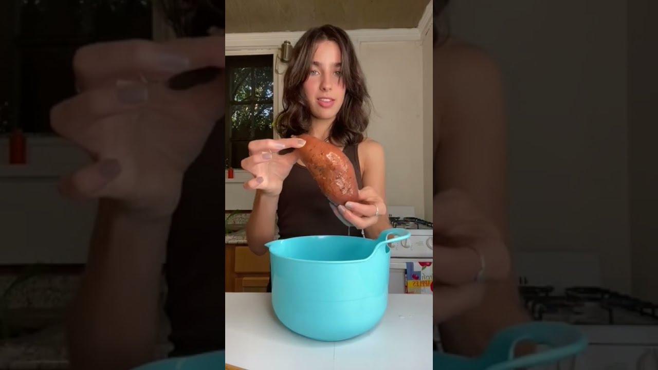 vegan sweet potato tortillas #youtubepartner