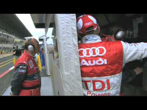 Speed, reliability, efficiency: the Audi R15 TDI