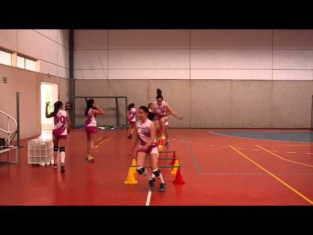 Entrenamiento Voleibol Infantil Fem