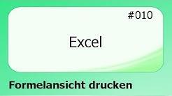 Excel #010 Formelansicht drucken [deutsch]