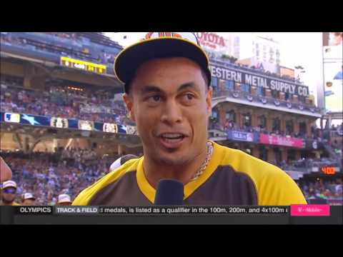 Giancarlo Stanton highlights - 2016 Home Run Derby