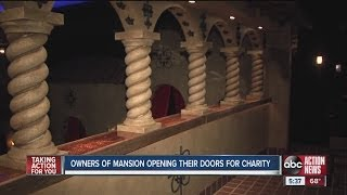 A Tampa area mansion is open for fundraisers