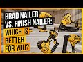 Brad Nailer vs. Finish Nailer: Which is Better for You?