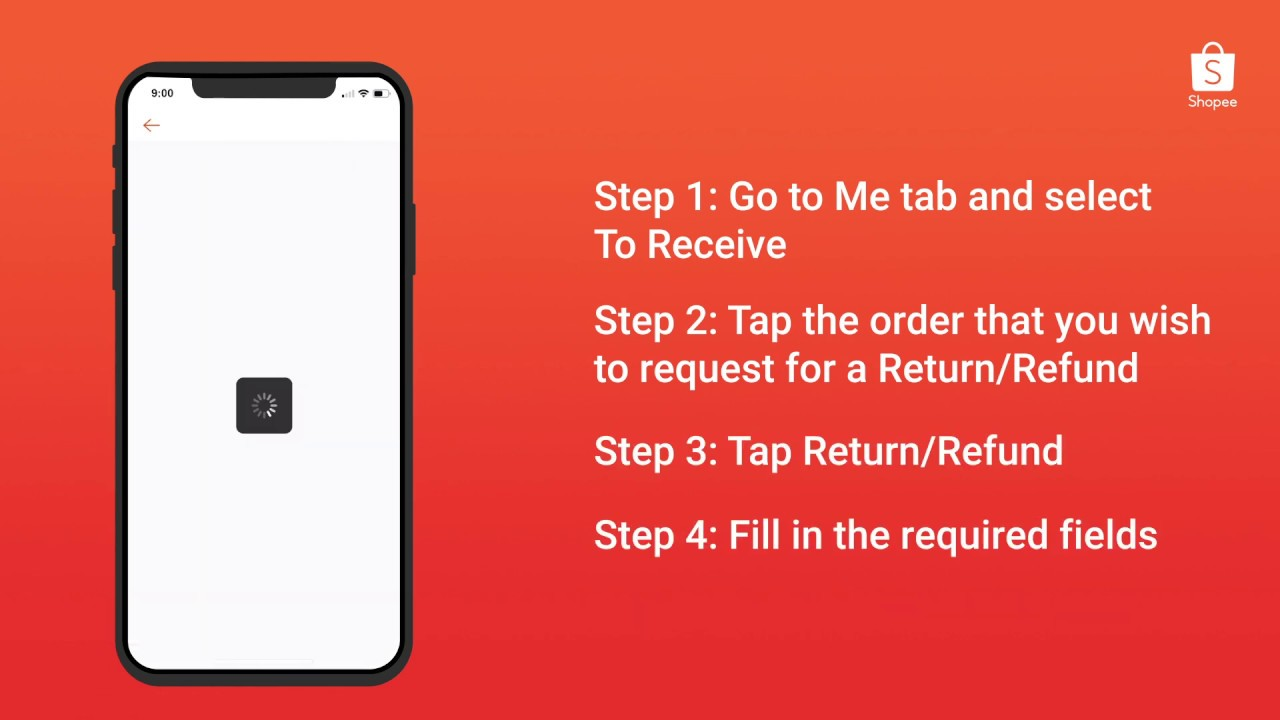 How to make a return/refund request?