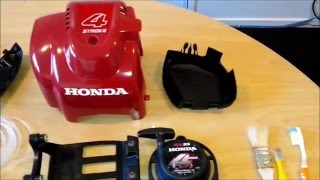 Honda Brushcutter UMK435U Tear Down Part 1