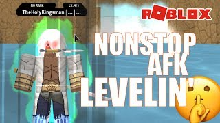 How to LEVEL up WHILE AFK in NRPG: Beyond   Roblox