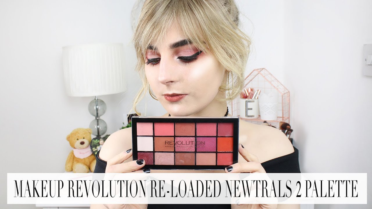Makeup revolution reloaded palette newtrals 3
