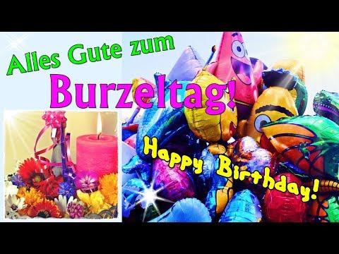 Lustiges Geburtstagslied Und Video Happy Birthday To You Mit