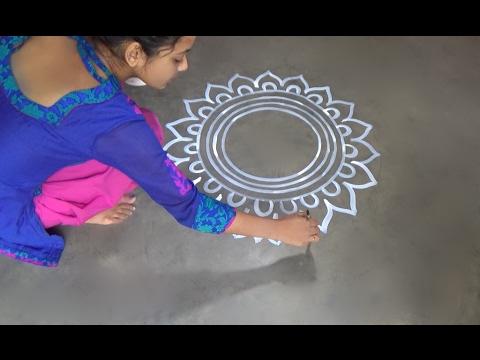 saraswati puja special alpana designs easy rangoli desiogns kolam designs muggulu