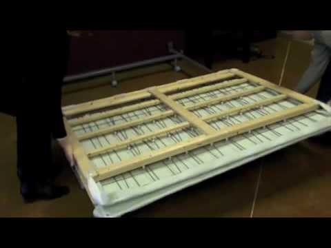 how to install a semifold box spring youtube. Black Bedroom Furniture Sets. Home Design Ideas