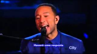 Alicia keys & John legend - let it be legendado