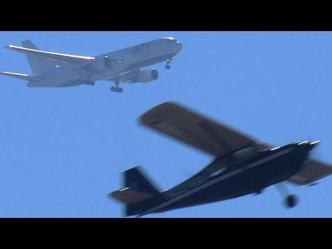 Air Transport International Boeing 767 Landing OAK