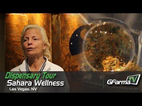 GFarmaTV visits Sahara Wellness in Las Vegas I Dispensary Tour