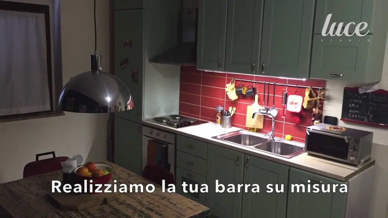 Lineare Led Sottopensile su misura - Luce al piano della tua cucina!