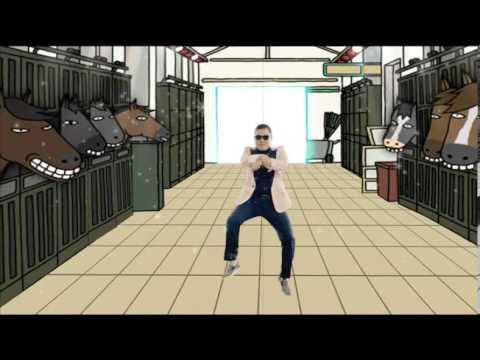 Hiru Mega Blast - Walisara - Ehenan Ennan Ban (Gangam Style)