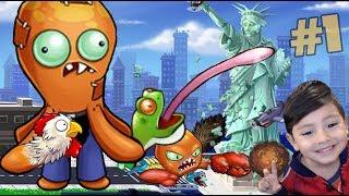 Octogeddon Gameplay | El Pulpo está Loco y Enojado | Juegos para niños