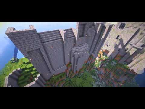 Майнкрафт креатив - как построить замок из сериала Игра Престолов.