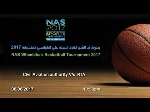 Civil Aviation authority V/s RTA (Nas wheelchair basketball tournament 2017)