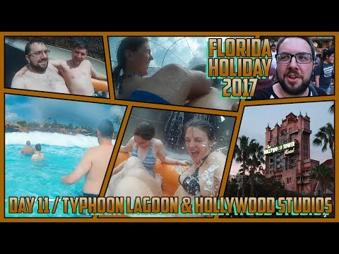 Waves, Wipeouts, Wild Times at Typhoon Lagoon & Hollywood Studios | FLORIDA 2017