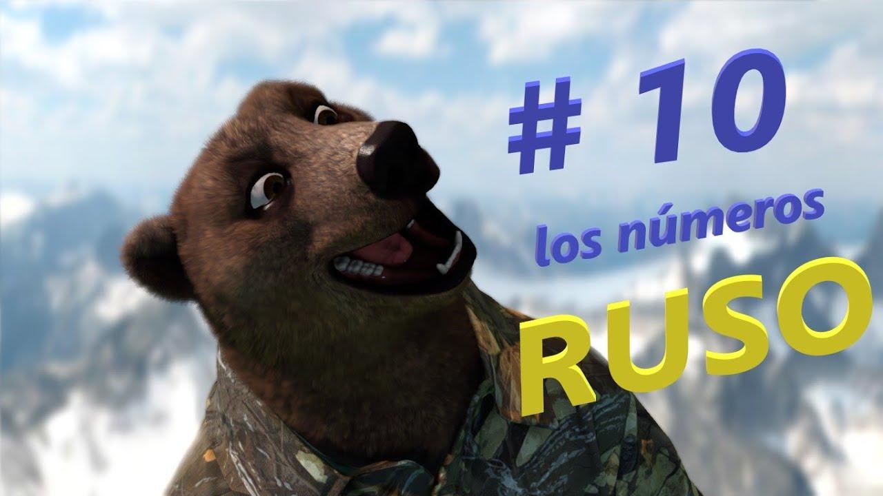 Ruso Con El Oso Boris Los Números Ordinales En Frases