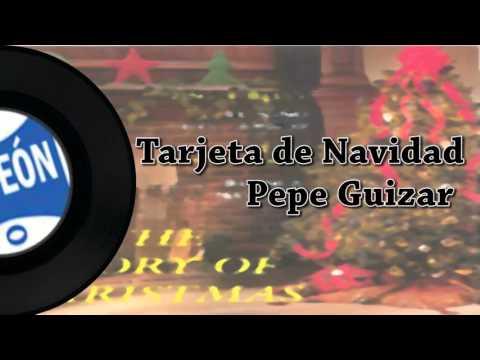 Tarjeta de Navidad-Pepe Guizar