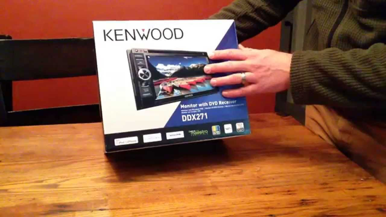 Kenwood DDX271 Support and Manuals on