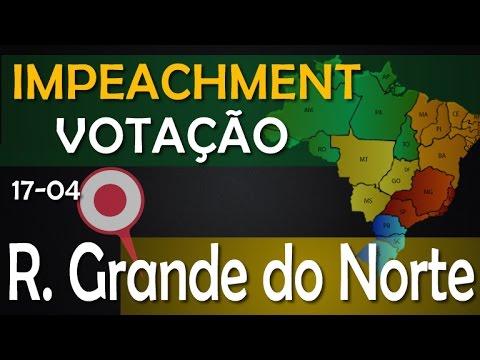 Impeachment ☀ ( RIO GRANDE DO NORTE ) → Como Votou o Seu Deputado? - Brasília - 17/04