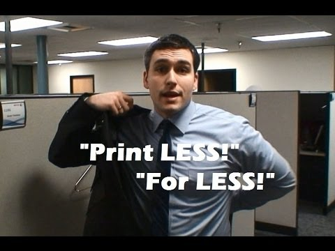 Managed Print Services (MPS) Sales Presentation by Travis Gnehm
