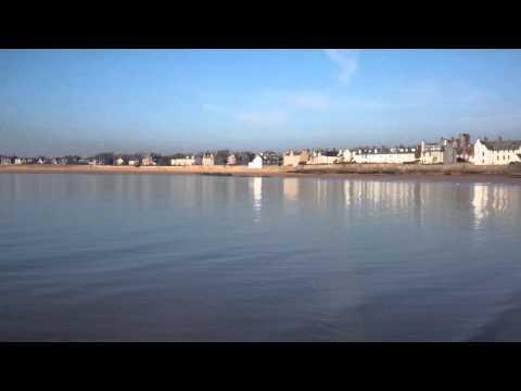 February Beach And Sea Elie East Neuk Of Fife Scotland