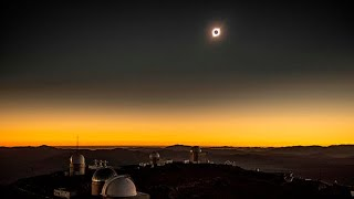 Watch a rare full solar eclipse plunge Chile into darkness