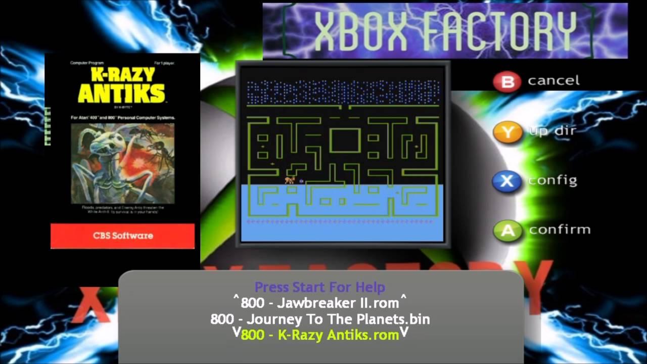 Atari 800 Atari 800XL Atari 5200 Complete XBOX 360 YouTube