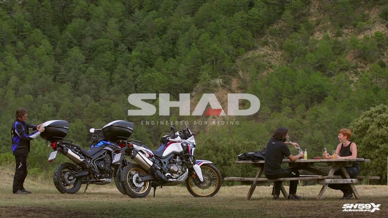 20a13a04c58b1 Top case SH59X čierny s hliníkovým krytom (zväčšiteľný koncept) - Motocykly  / BMW / 1200 / R 1200 GS - eSHOP - JF Moto s.r.o