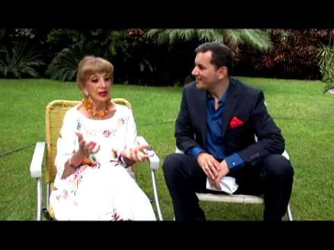 Promocional ESCENARIOS ANDA Tercera Temporada: Ana Luisa Peluffo