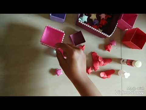 How to make Paper box container 2