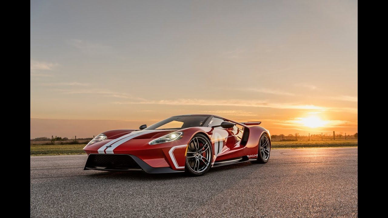 Ford Gt Heritage Edition Delivered To Team Hennessey