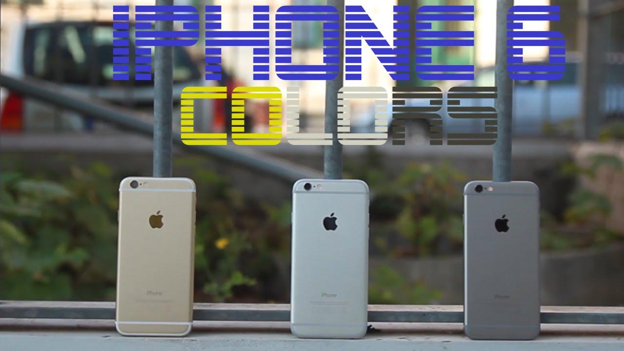 Айфон 6 голд цвет