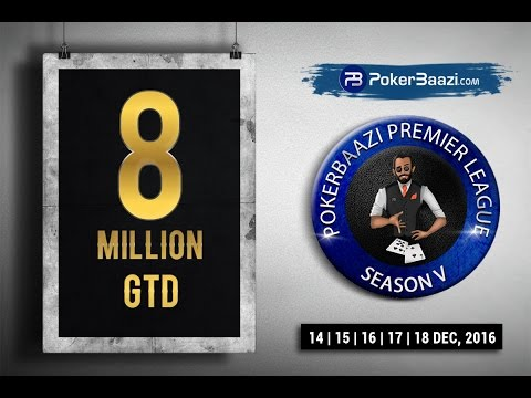 PokerBaazi Premier League Season V:  Schedule