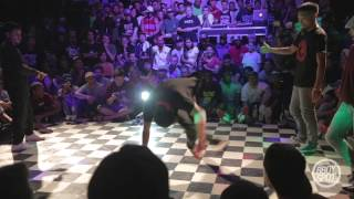 Break Disciples vs Ayumi & Kazuki Roc - 2vs2 Semifinals Outbreak Hiphop Festival 10 Year Anniversary