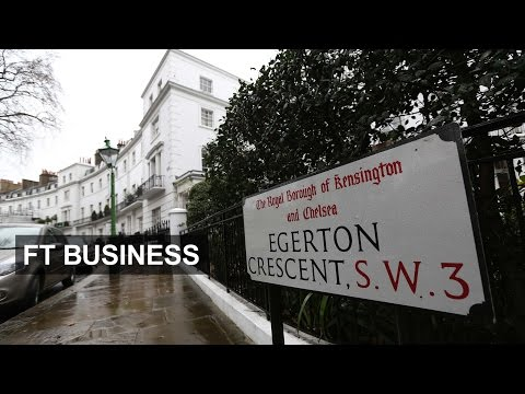 London's luxury houses lose shine